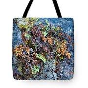 Ferns On Cliffside Tote Bag