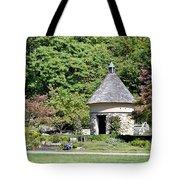 Fernwood Botanical Garden Stone Herb House Usa Tote Bag