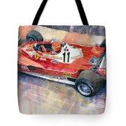 Ferrari 312 T2 Niki Lauda 1977 Monaco Gp Tote Bag