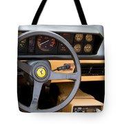 Ferrari 3.2 Mondial Cabriolet Interior Tote Bag