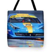 2012 Ferrari 458 Challenge Team Ukraine 2012 Tote Bag