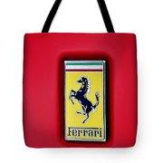 Ferrari Badge Tote Bag