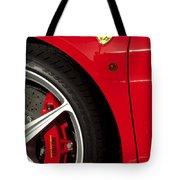 Ferrari Emblem 3 Tote Bag by Jill Reger