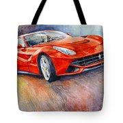 2014 Ferrari F12 Berlinetta  Tote Bag