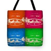 Ferrari Front Pop Art 4 Tote Bag