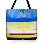 Ferrari Rear Emblem -0062c Tote Bag