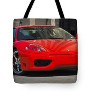 Ferrari Red Tote Bag