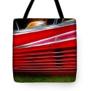 Ferrari Testarossa Red Tote Bag