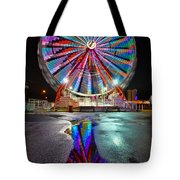 Ferris Reflection Tote Bag