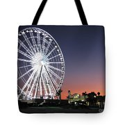 Ferris Wheel 16 Tote Bag