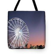 Ferris Wheel 21 Tote Bag