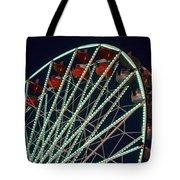 Ferris Wheel After Dark Tote Bag