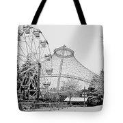 Ferris Wheel And R F P Pavilion - Spokane Washington Tote Bag