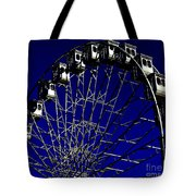Ferris Wheel Tote Bag