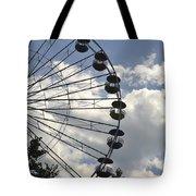 Ferris Wheel In The Sky Tote Bag