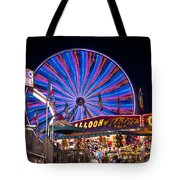 Ferris Wheel Rides And Games Tote Bag