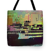 Ferry Cubed 2 Tote Bag