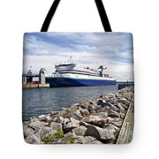 Ferry From North Sydney-ns To Argentia-nl Tote Bag