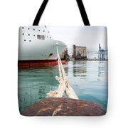 Ferry Mooring Tote Bag