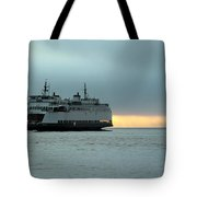Ferry Sealth In The Fog Tote Bag