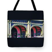 Ferry Terminal Arches At The Battery, New York Tote Bag