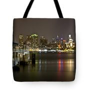 Ferry To The City Of Brotherly Love Tote Bag