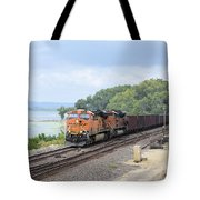 Ferryville Train Tote Bag