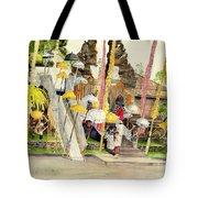 Festival Hindu Ceremony Tote Bag