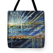 Festival On The Waterfront Tote Bag