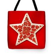 Festive Star Tote Bag