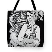 Fetish Girl Tote Bag
