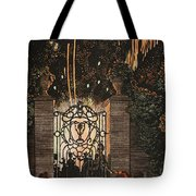 Feu D Artifice Tote Bag