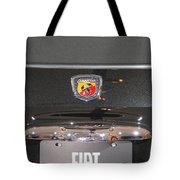 Fiat 500 Abarth Tote Bag