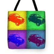 Fiat 500 Pop Art 1 Tote Bag