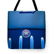 Fiat 750 Mm Zagato Panoramica Coupe Grille Emblem Tote Bag