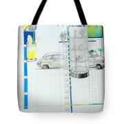 Fiat Cinquecento Tote Bag