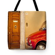 Fiat Parking Tote Bag