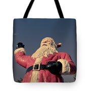 Fiberglass Santa Claus Tote Bag