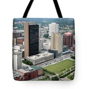 Fiberglass Tower Toledo Ohio Tote Bag