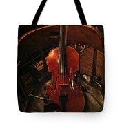 Fiddle Tote Bag