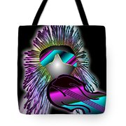 Fiddler In The Band Electric Tote Bag