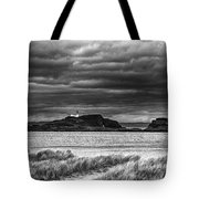 Fidra Island Lighthouse Tote Bag