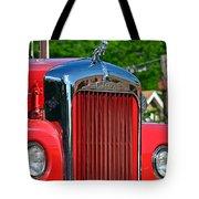 Fie Truck Tote Bag