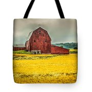Field And Barn Tote Bag
