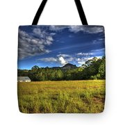 Field Bathed In Sunshine Tote Bag