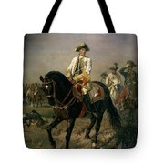Field Marshal Baron Ernst Von Laudon 1717-90, General In The Seven Years War And War Of Bavarian Tote Bag
