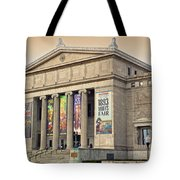 Field Museum South Facade Tote Bag