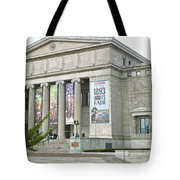 Field Museum Southside Facade Tote Bag