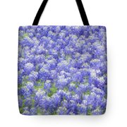 Field Of Bluebonnets Tote Bag