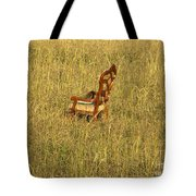 Field Of Chair Tote Bag